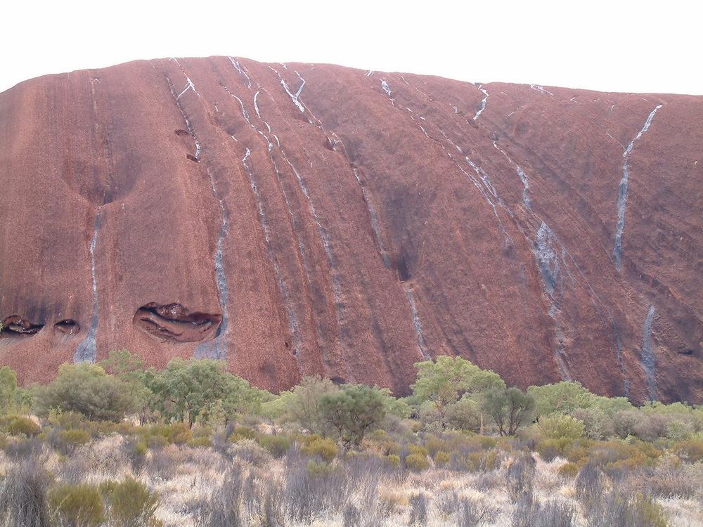 Uluru after a rainstorm