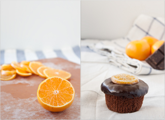 Chocolate Clementine Cupcakes | Laura of A Beautiful Plate on Pastry Affair