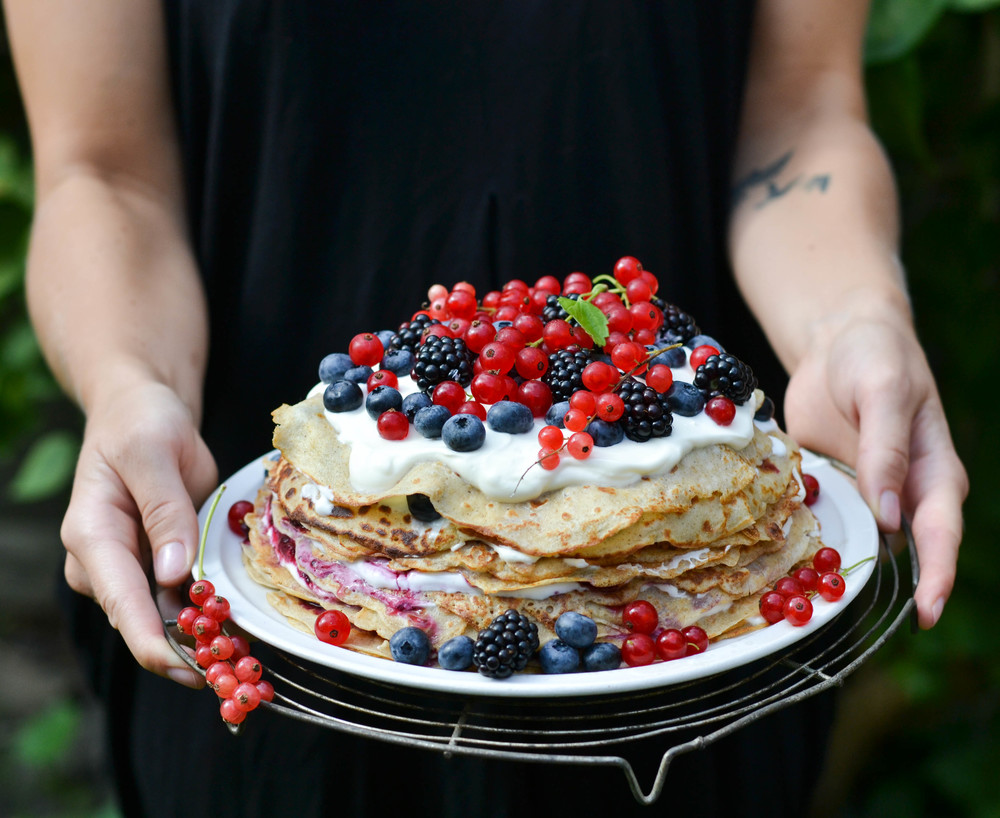 Nordic Pancake Cake | Josephine of A Tasty Love Story on Pastry Affair