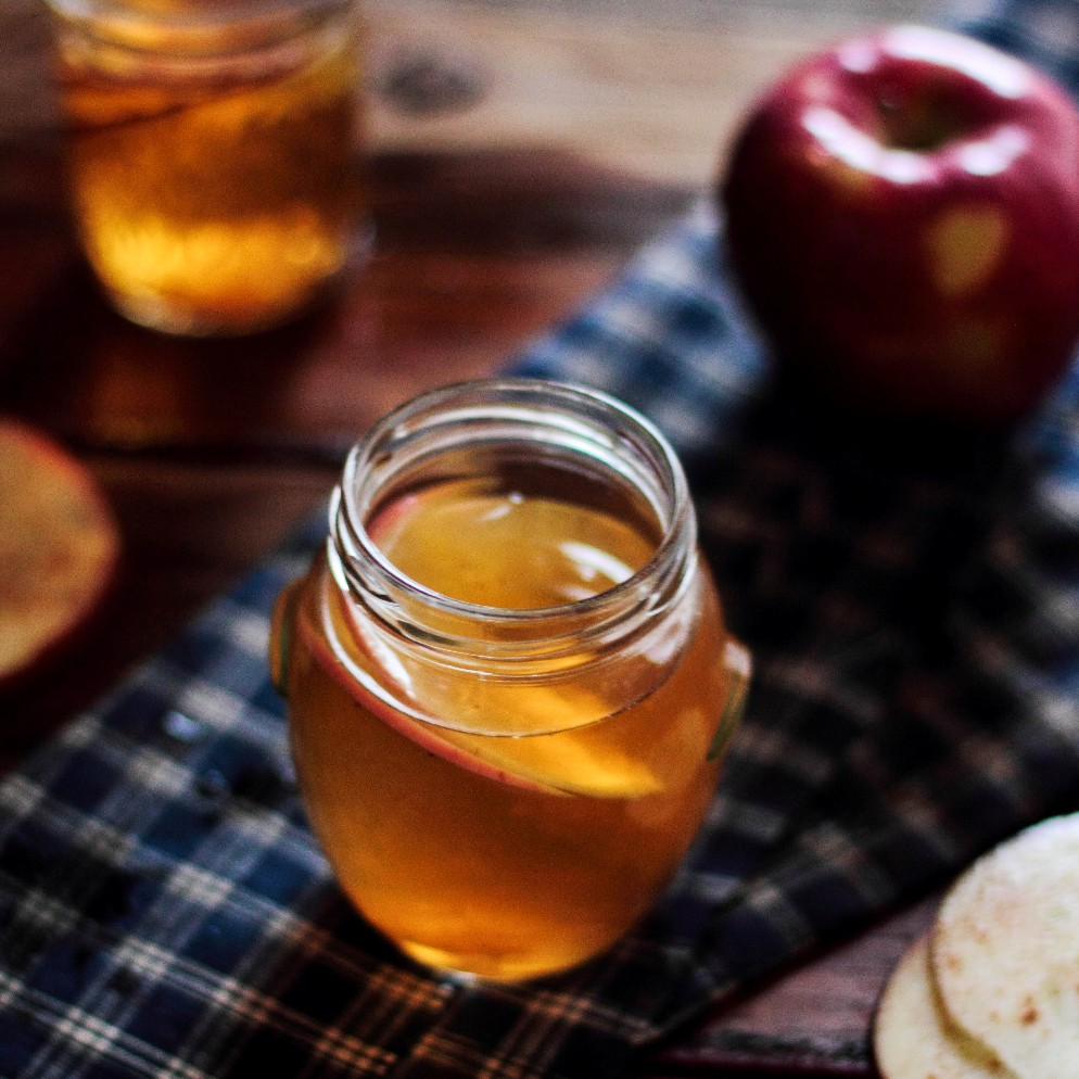 Hot Bourbon Apple Cider