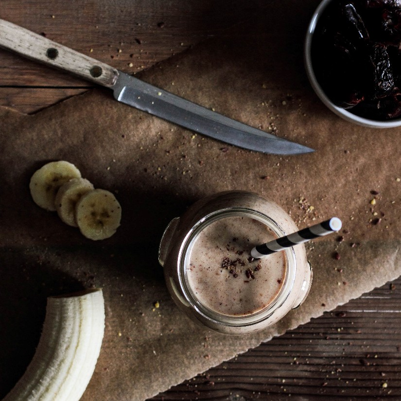 Almond Date Banana Smoothie