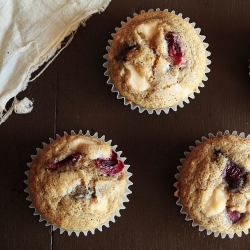 Cherry Cream Cheese Muffins