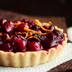 Cranberry White Chocolate Tarts