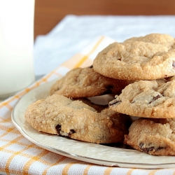 PB Chocolate Chip Cookies