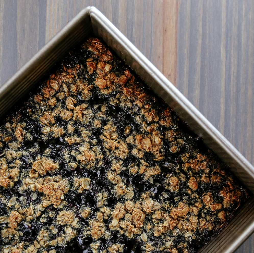 Blueberry Oat Bars (GF)