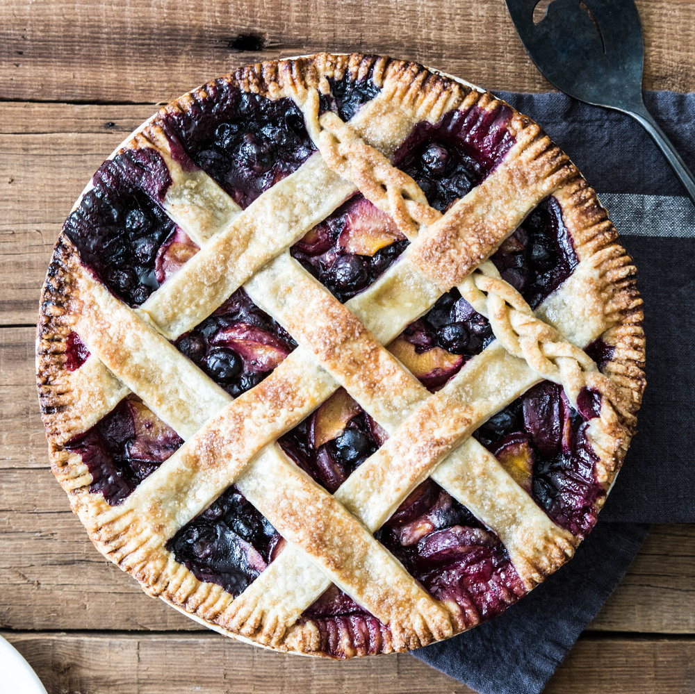 Blueberry Plum Pie