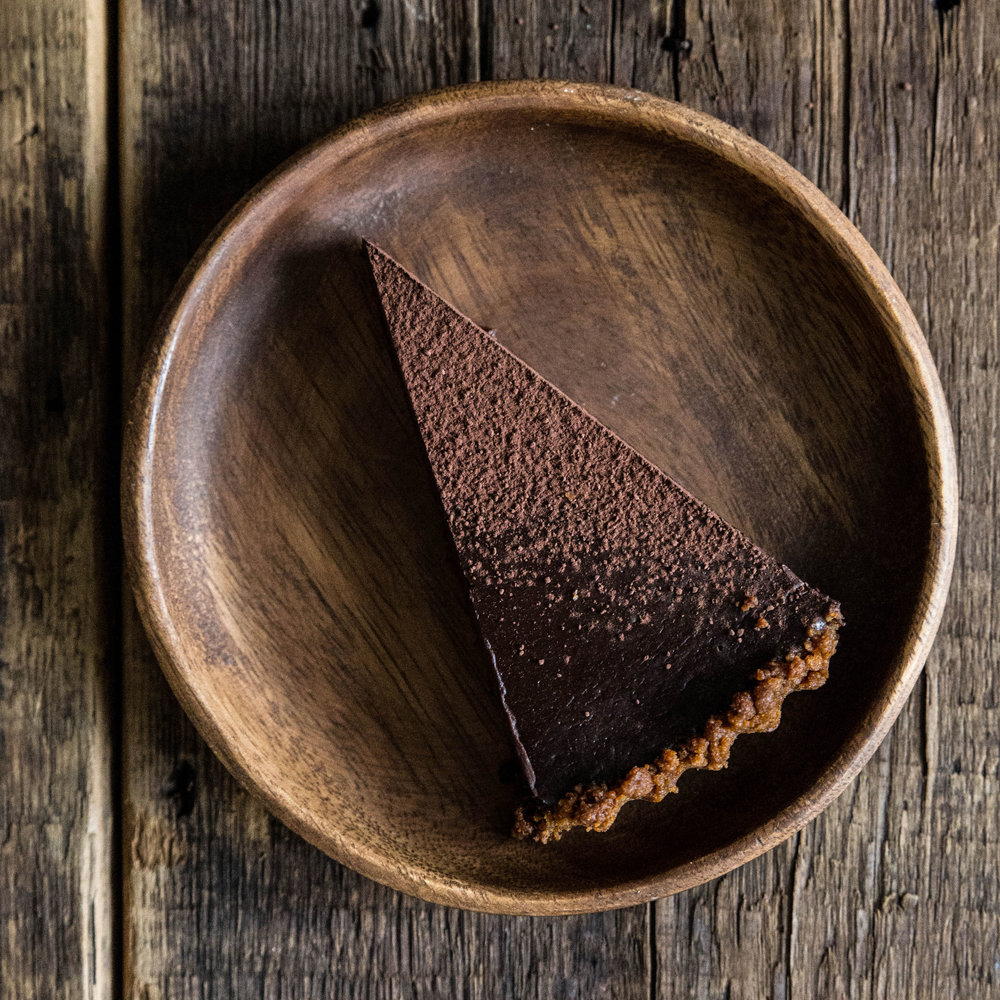 Chocolate Gingersnap Tart
