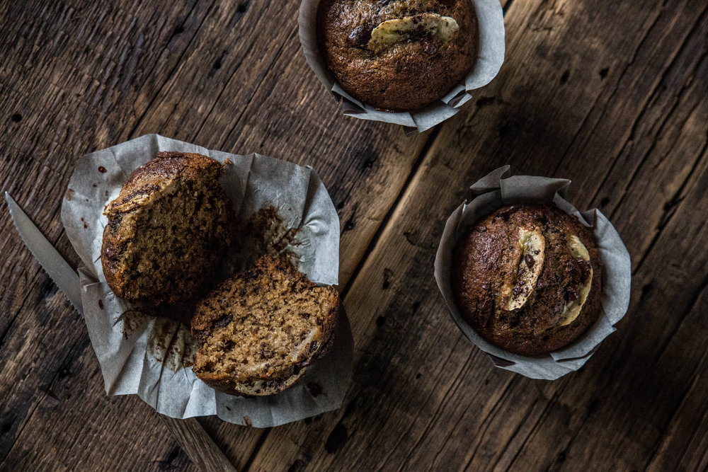 Pastry Affair   Roasted Banana Muffins