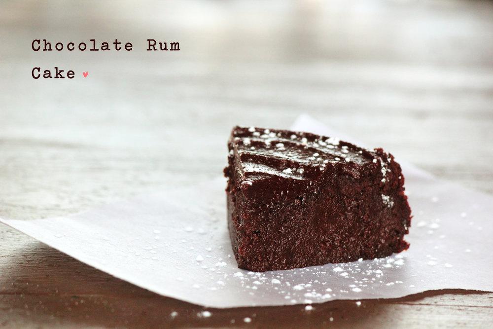 Pastry Affair Flourless Chocolate Rum Cake