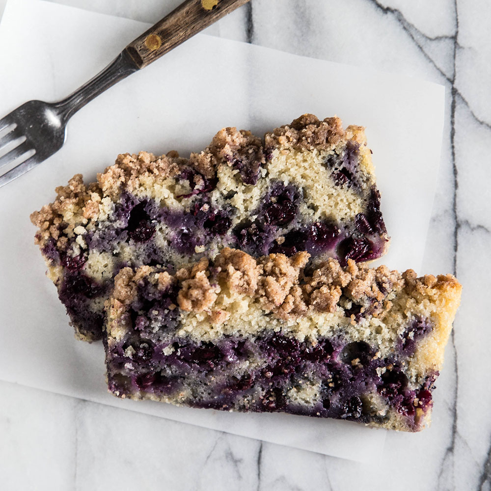 Blueberry Crumble Bread