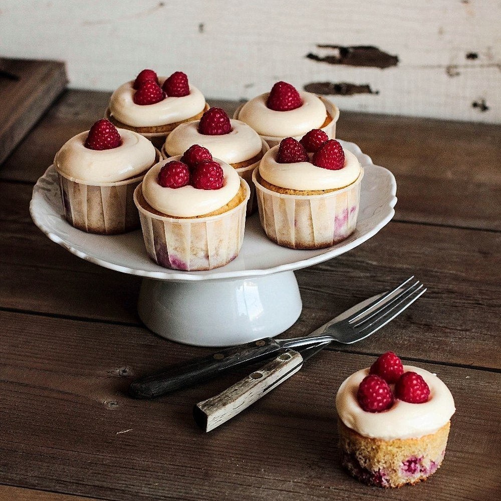 Raspberry Lemon Cupcakes
