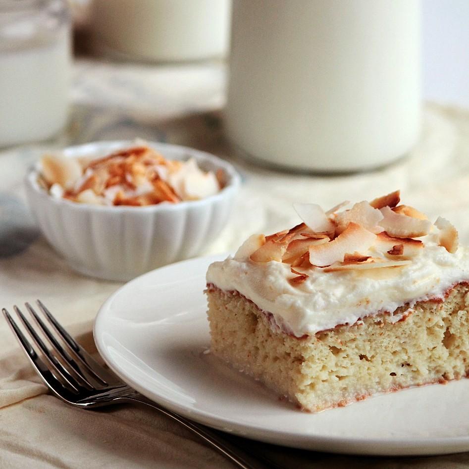 3 Milk Coconut Cake