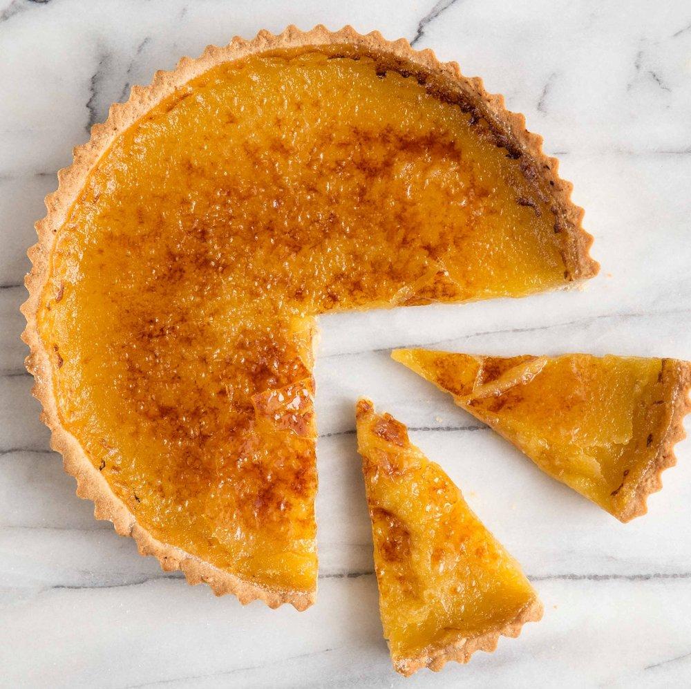 Bruleed Lemon Tart