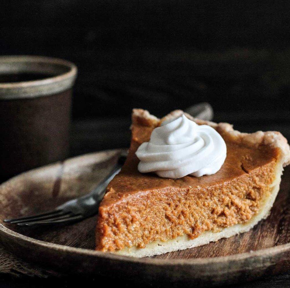 Pumpkin Pie (Dairy-Free!)