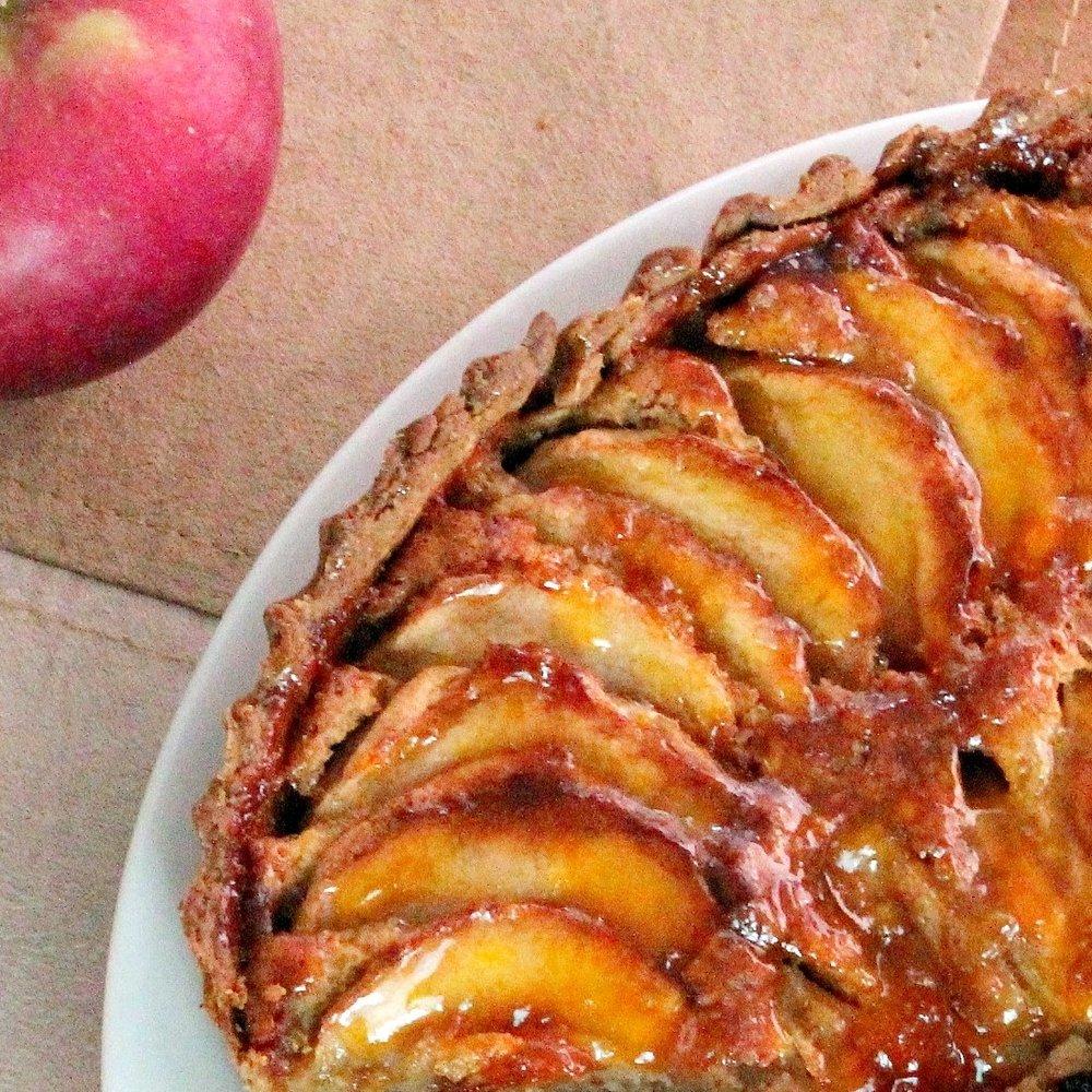 Apple Tart with Almond Cream