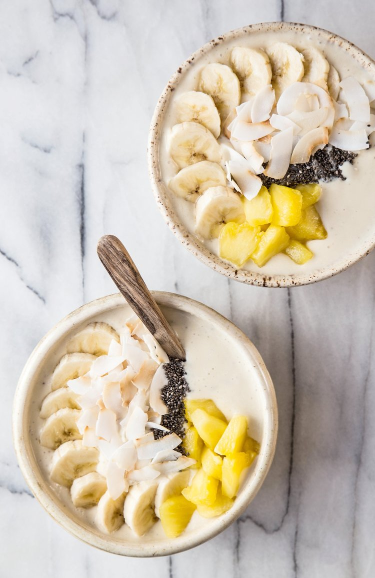 Pineapple Coconut Smoothie Bowl