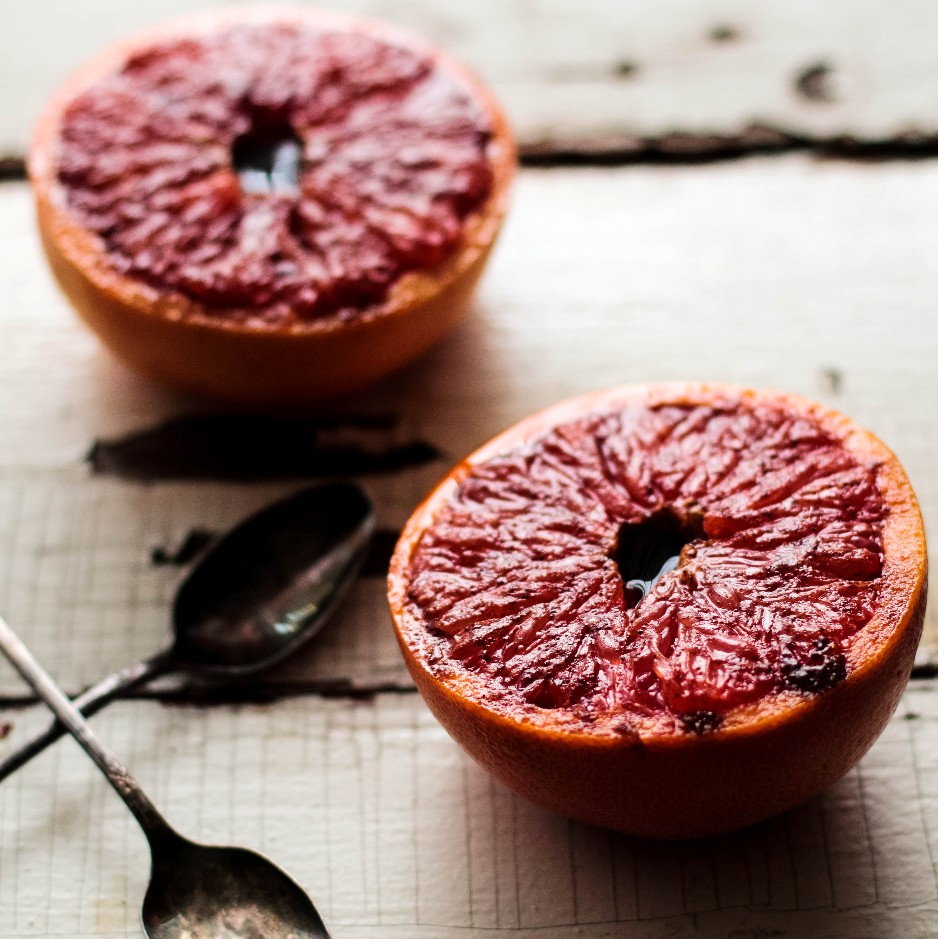 Bruleed Grapefruit