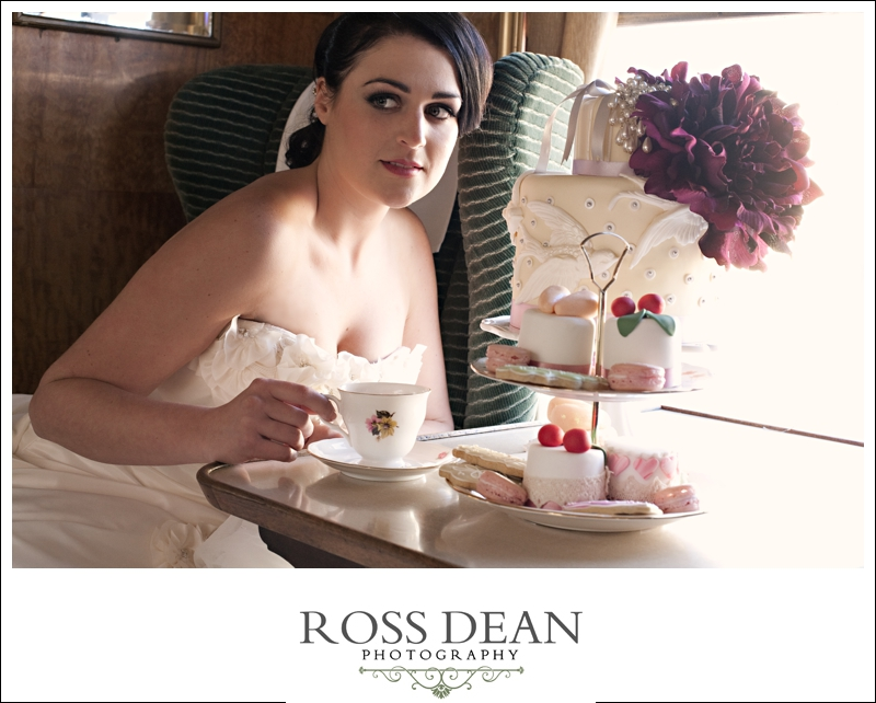 A Beautiful Essex Vintage Railway Wedding Shoot