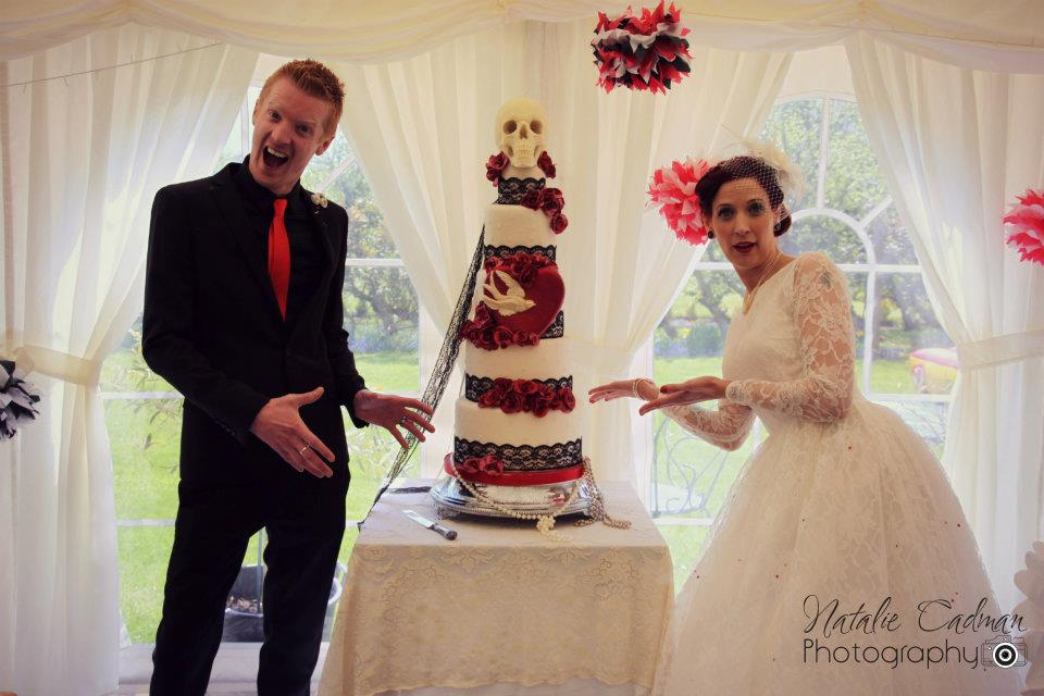 Bespoke Wedding Cake Inspiration from CRUMB!