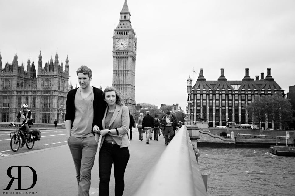 Wedding Photographers London - South Bank Engagement Shoot - rossdeanphotography.com