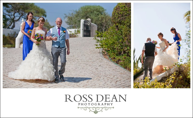 A stunning beach side destination wedding in Portugal - http://www.rossdeanphotography.com (23)