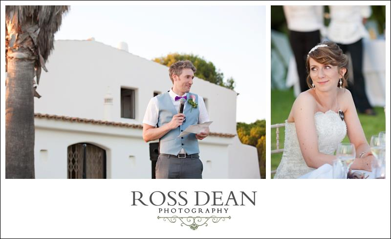 A stunning beach side destination wedding in Portugal - http://www.rossdeanphotography.com (40)