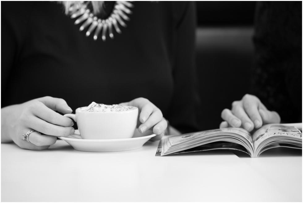 suffolk headshot photographer_caroline gould wedding planner enjoying coffee