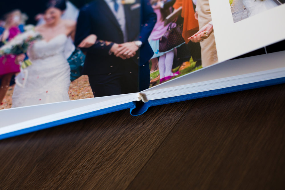 ross dean photography wedding albums