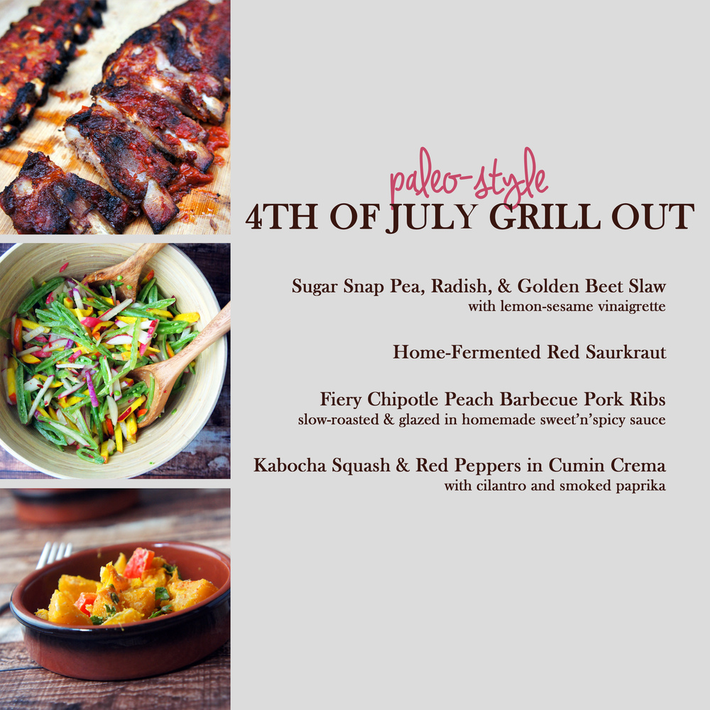 Paleo 4th of July Grilling Menu
