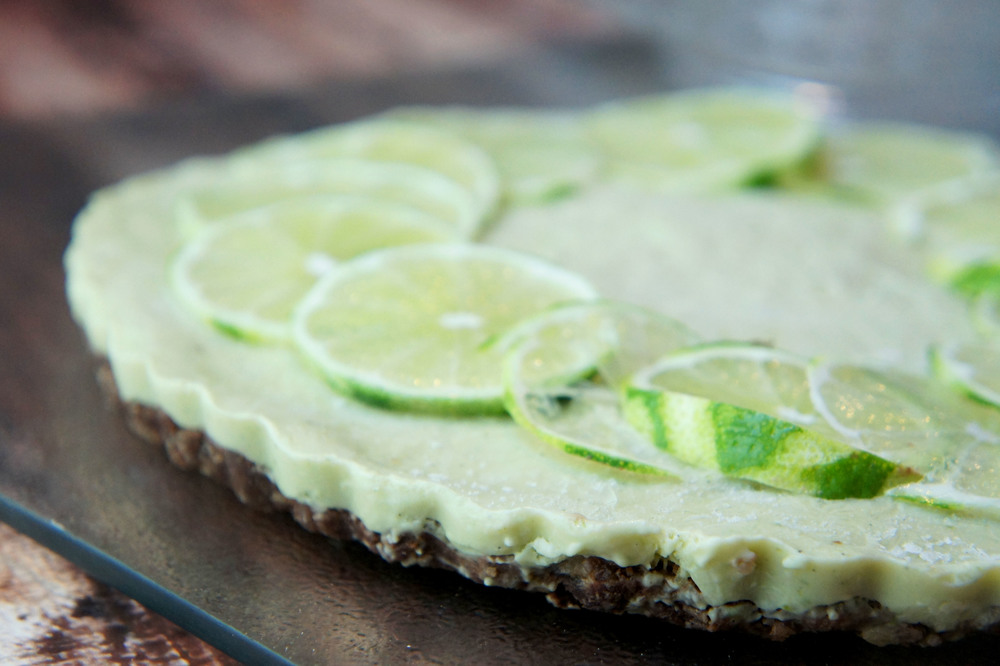 Margarita Pie (Paleo, Raw, Vegan)
