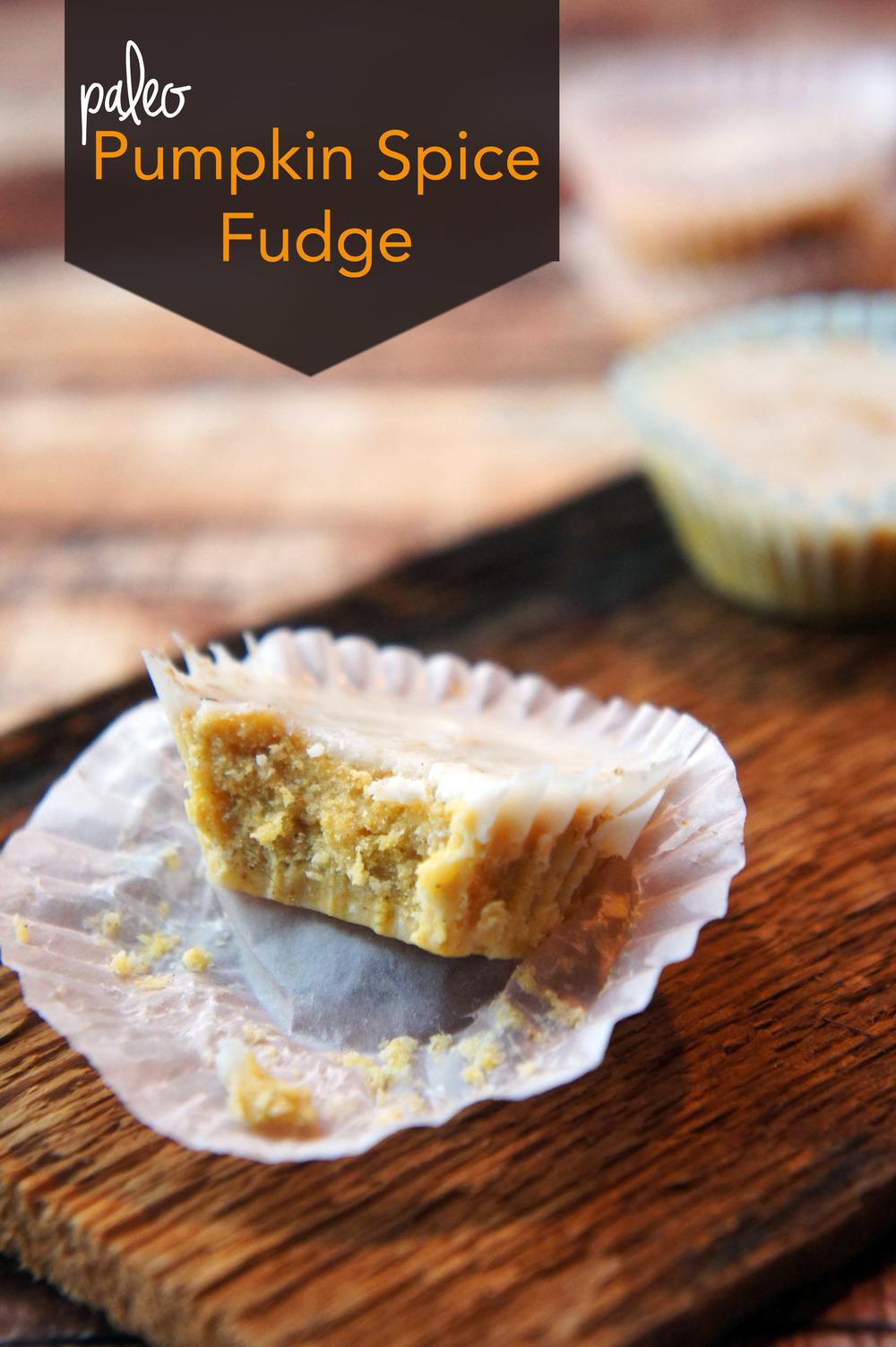 Creamy Pumpkin Fudge Cups (Paleo & Vegan)