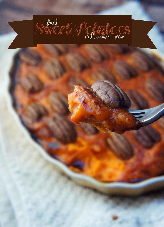 Cinnamon Brûléed Sweet Potato Purée (Paleo & Vegan)