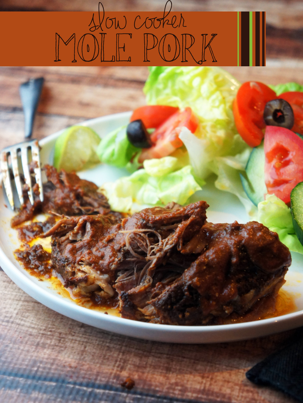 Paleo Slow Cooker Mole Pork -- Foraged Dish