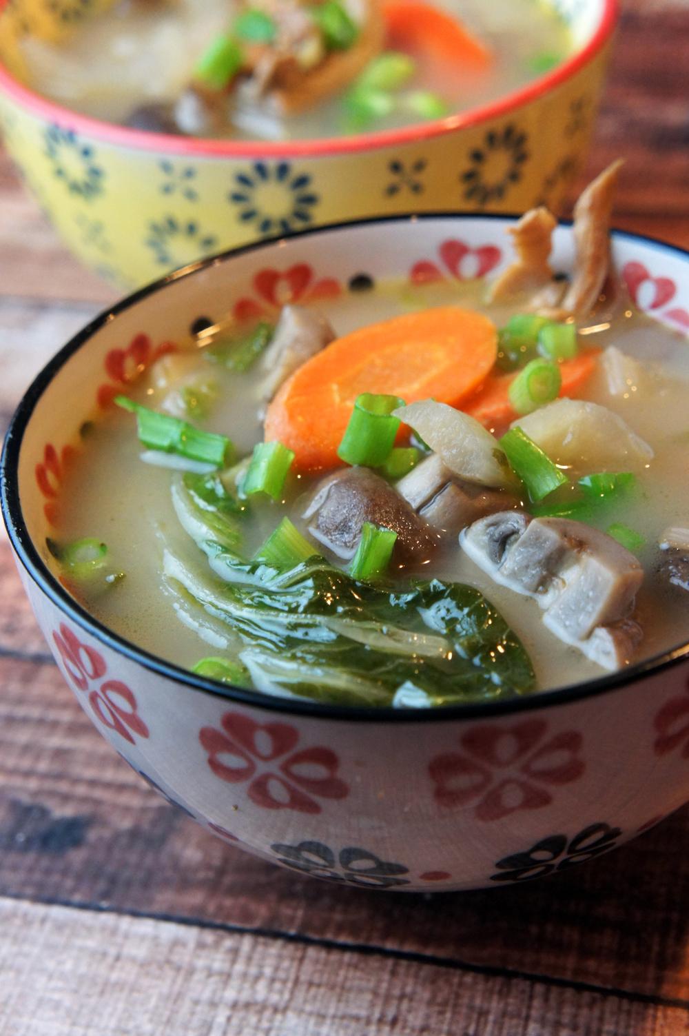 Paleo Healing Lemongrass Soup