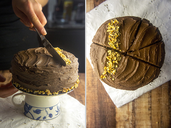Paleo Blackout Chocolate Cake