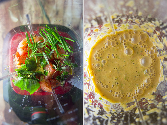 Easy Tomato Herb Dressing (Paleo)