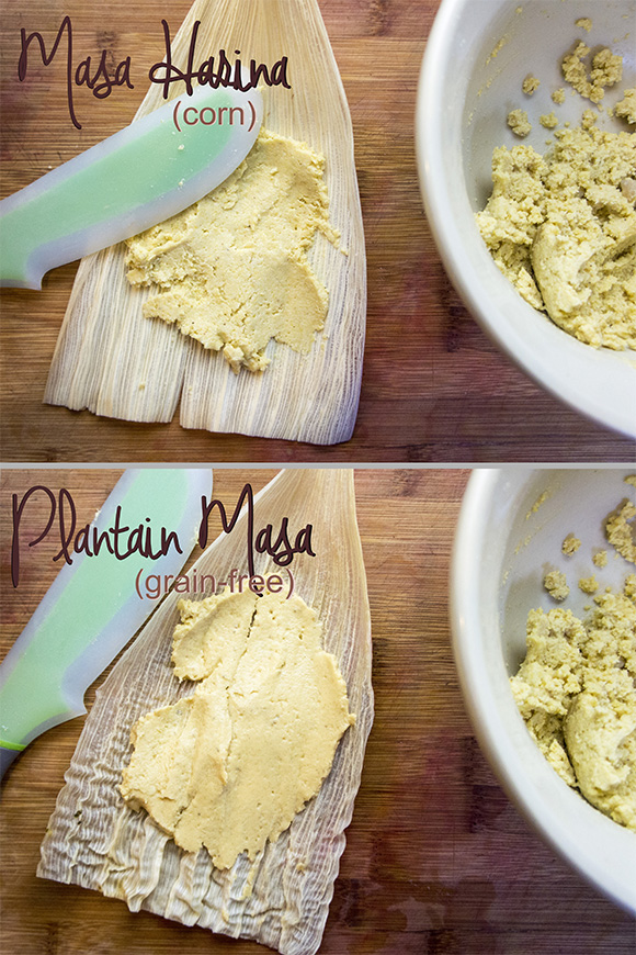 The Tamale Project (Paleo Plantain Tamales v. Traditional Corn Tamales)