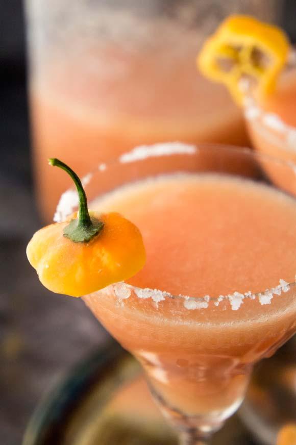 Grapefruit Habanero Margarita