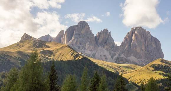 Dolomites area