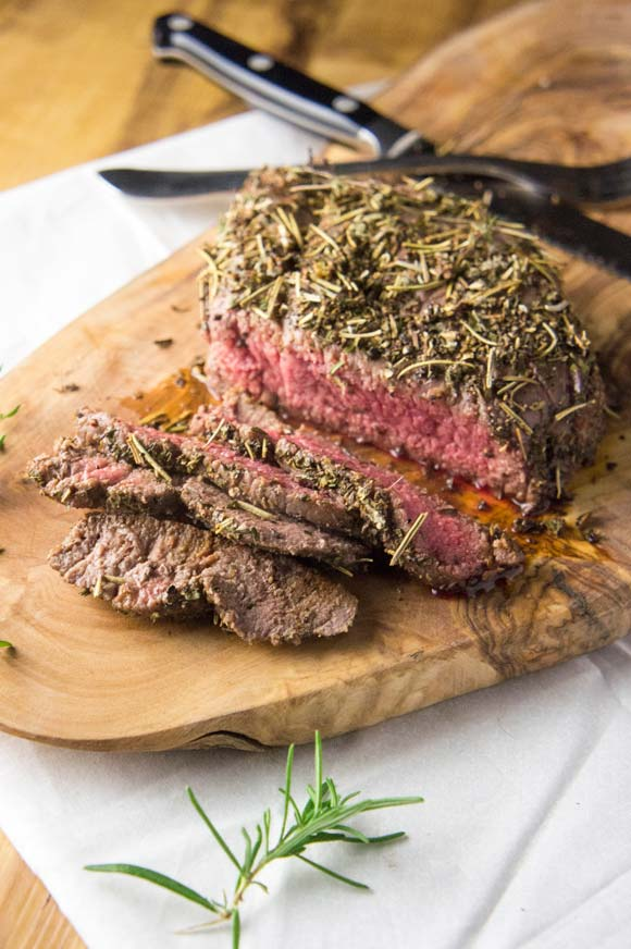 Herb Crusted London Broil