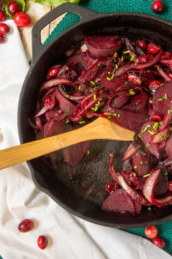 Beet Cranberry Saute
