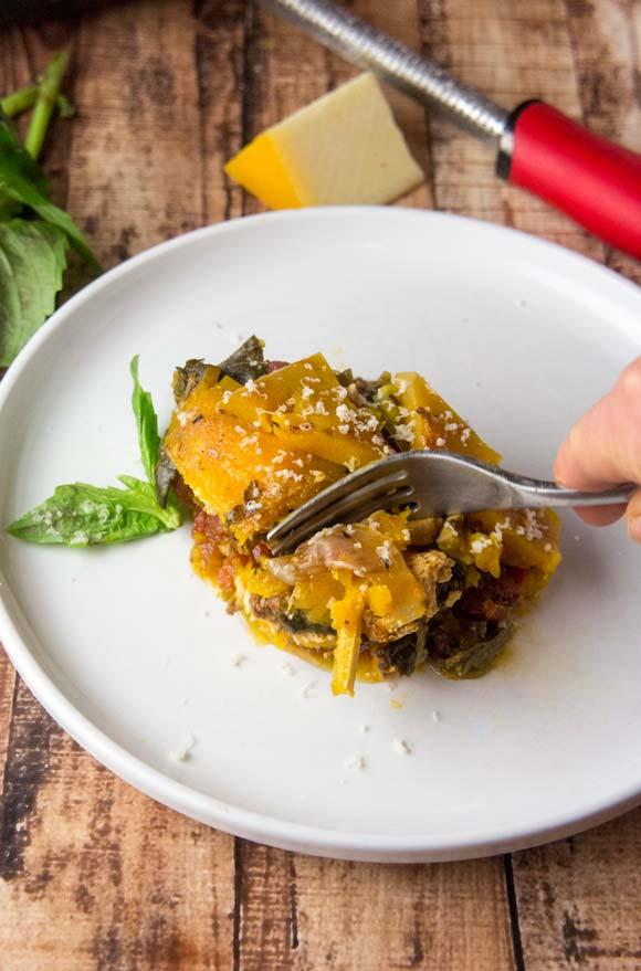 Slow Cooker Butternut Squash Lasagna