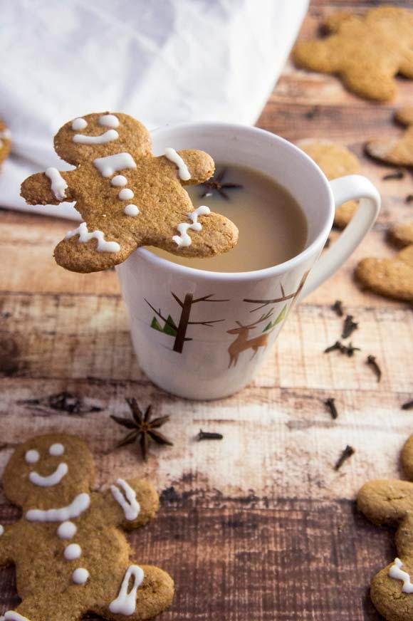 Paleo Gingerbread Men