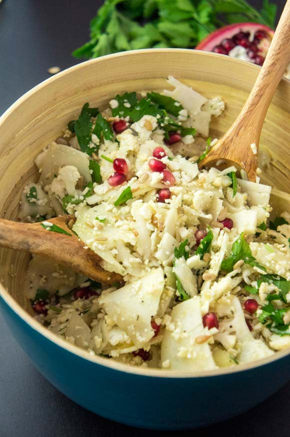 Cauliflower & Kohlrabi Salad
