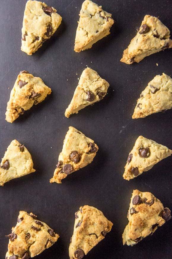 Grain-free scones