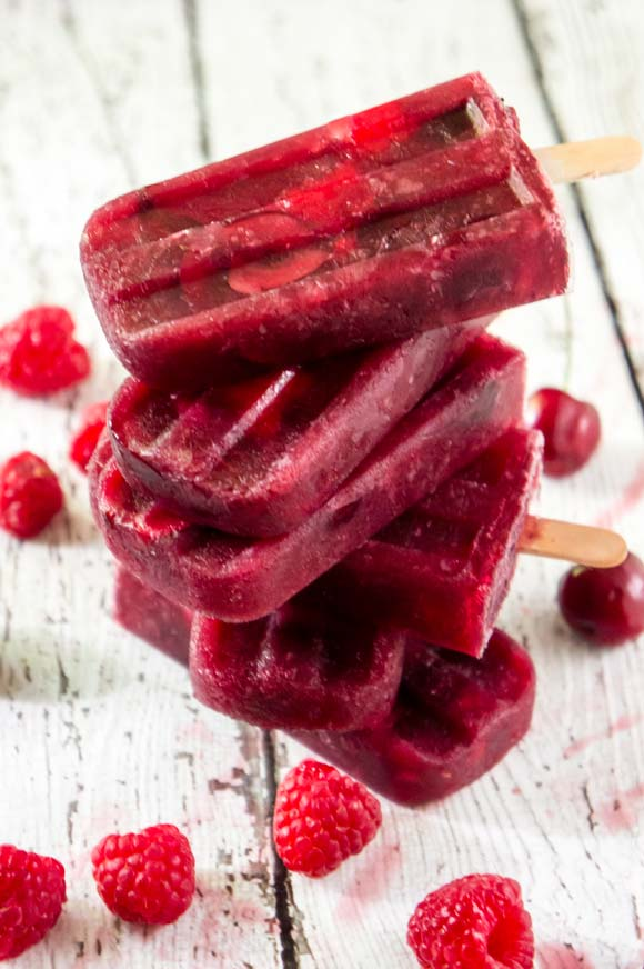 Berry Sangria Popsicles