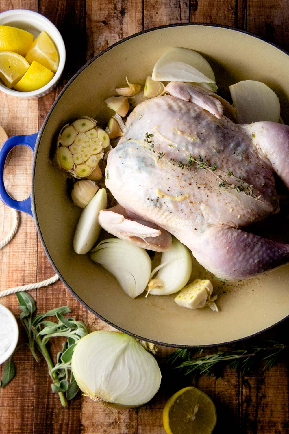 Three Herb Roasted Chicken