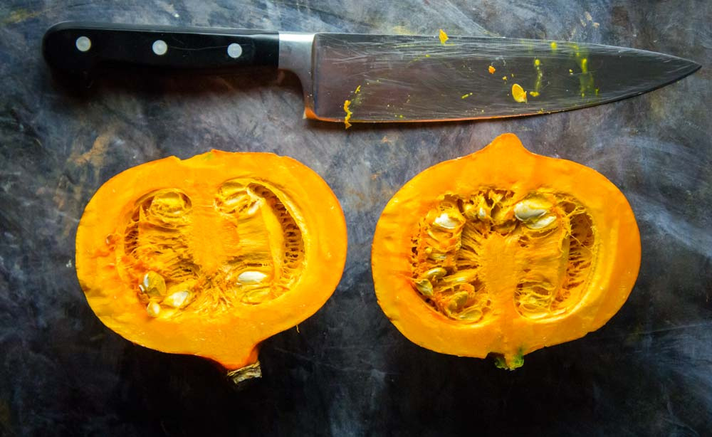 Maple Ginger Red Kuri Squash