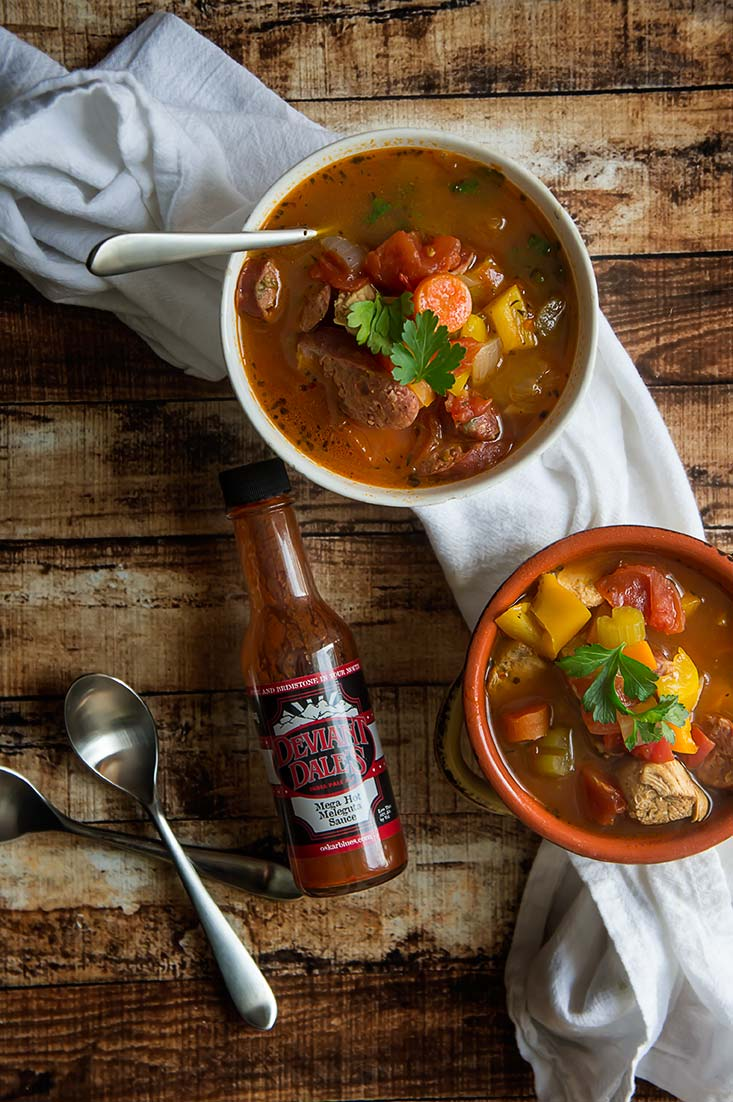 Paleo Chicken & Smoked Sausage Stew