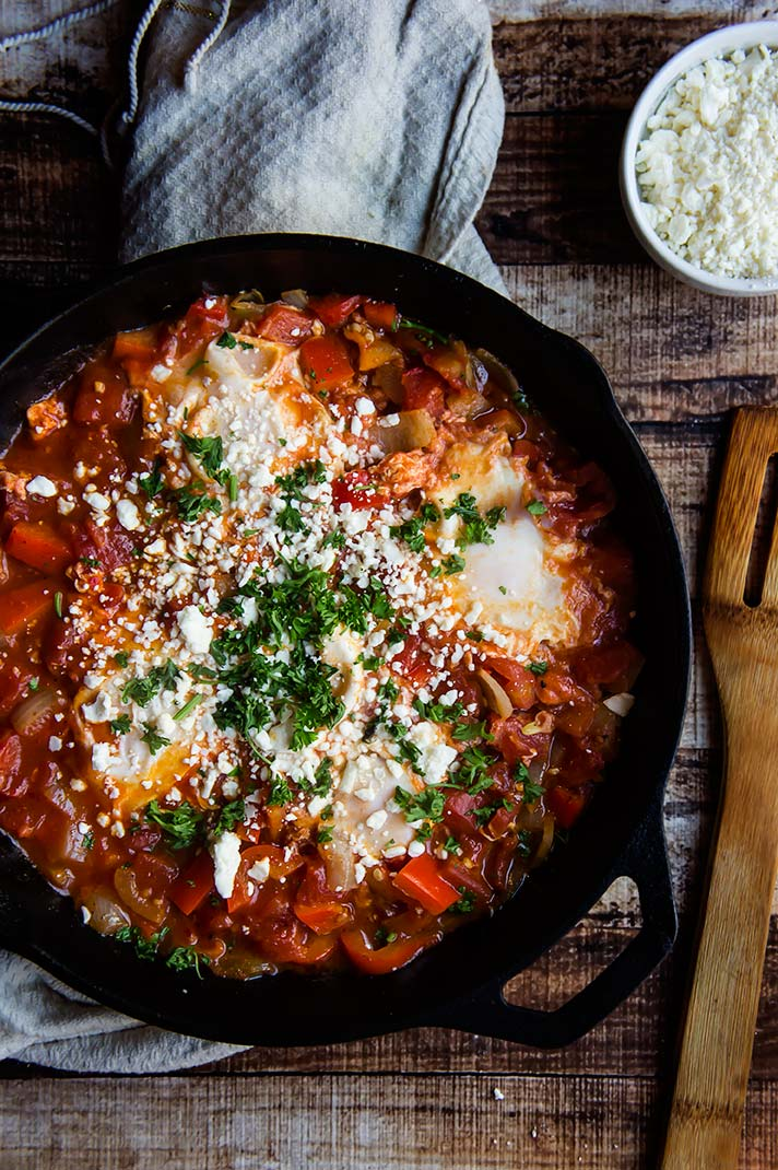 Middle Eastern Spiced Shakshuka